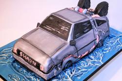 back to the future cakee