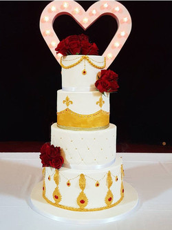Punjabi Wedding CAke
