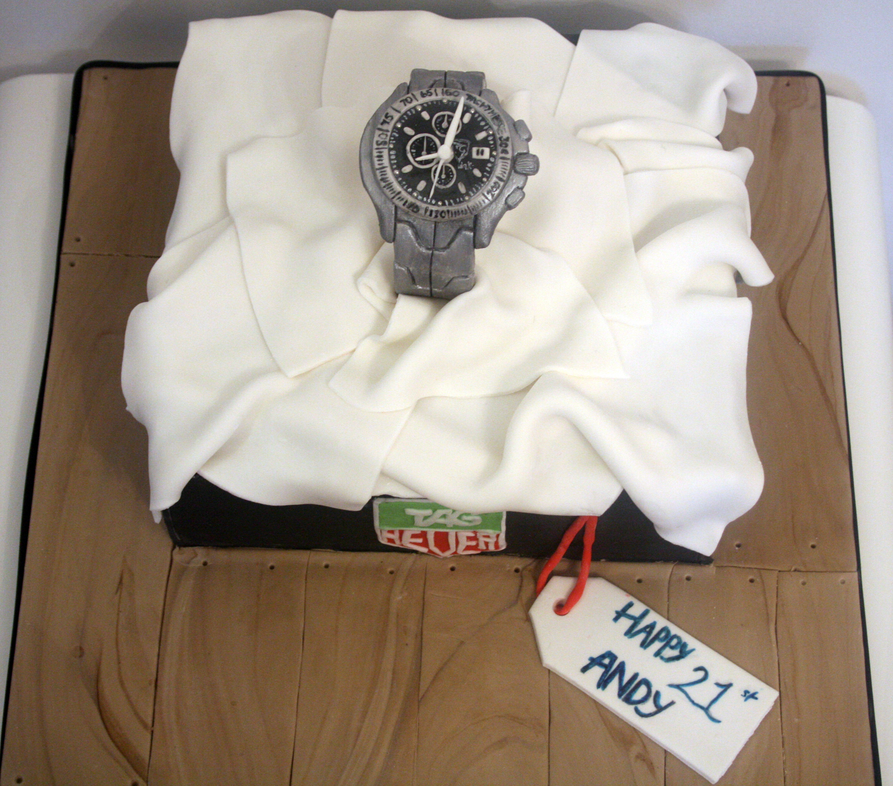 Tag Heuer Cake Edible Watch
