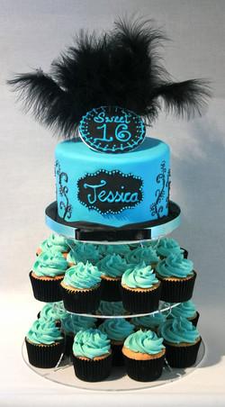 Sweet 16 Personalised Birthday Cake