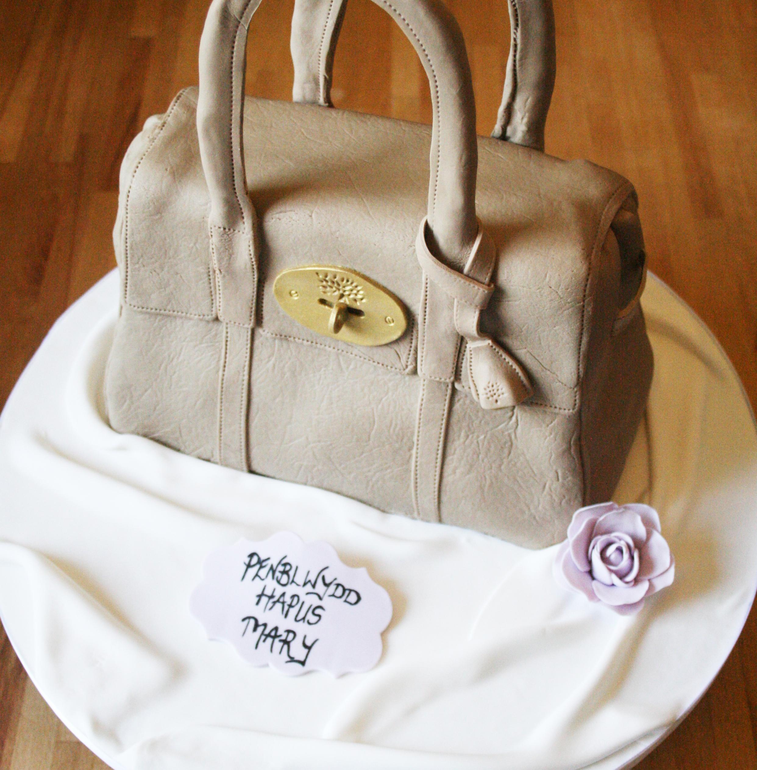 Mulberry Handbag Cake