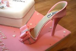 High Heel / Shoe Birthday Cake