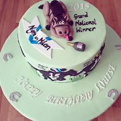 Grand National Drunken Horse Cake