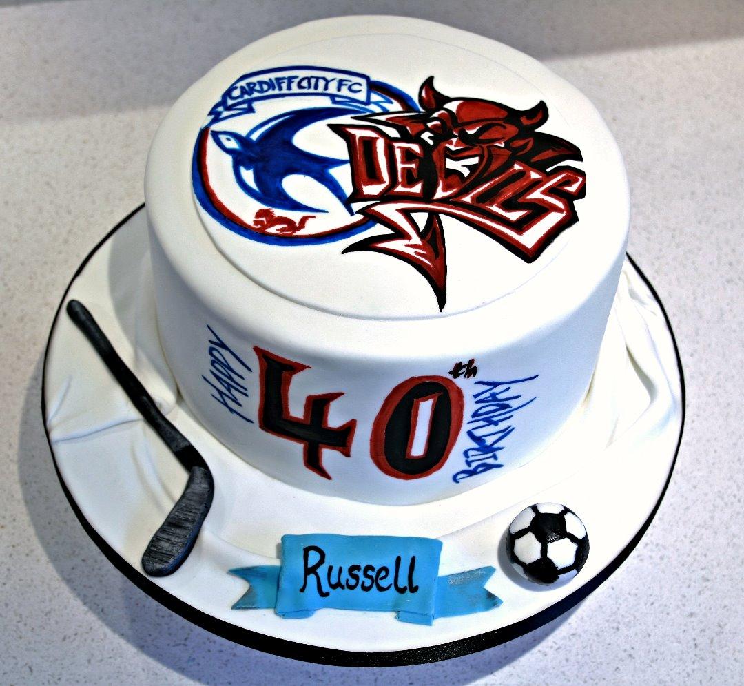 Cardiff City Cardiff Devils Cake