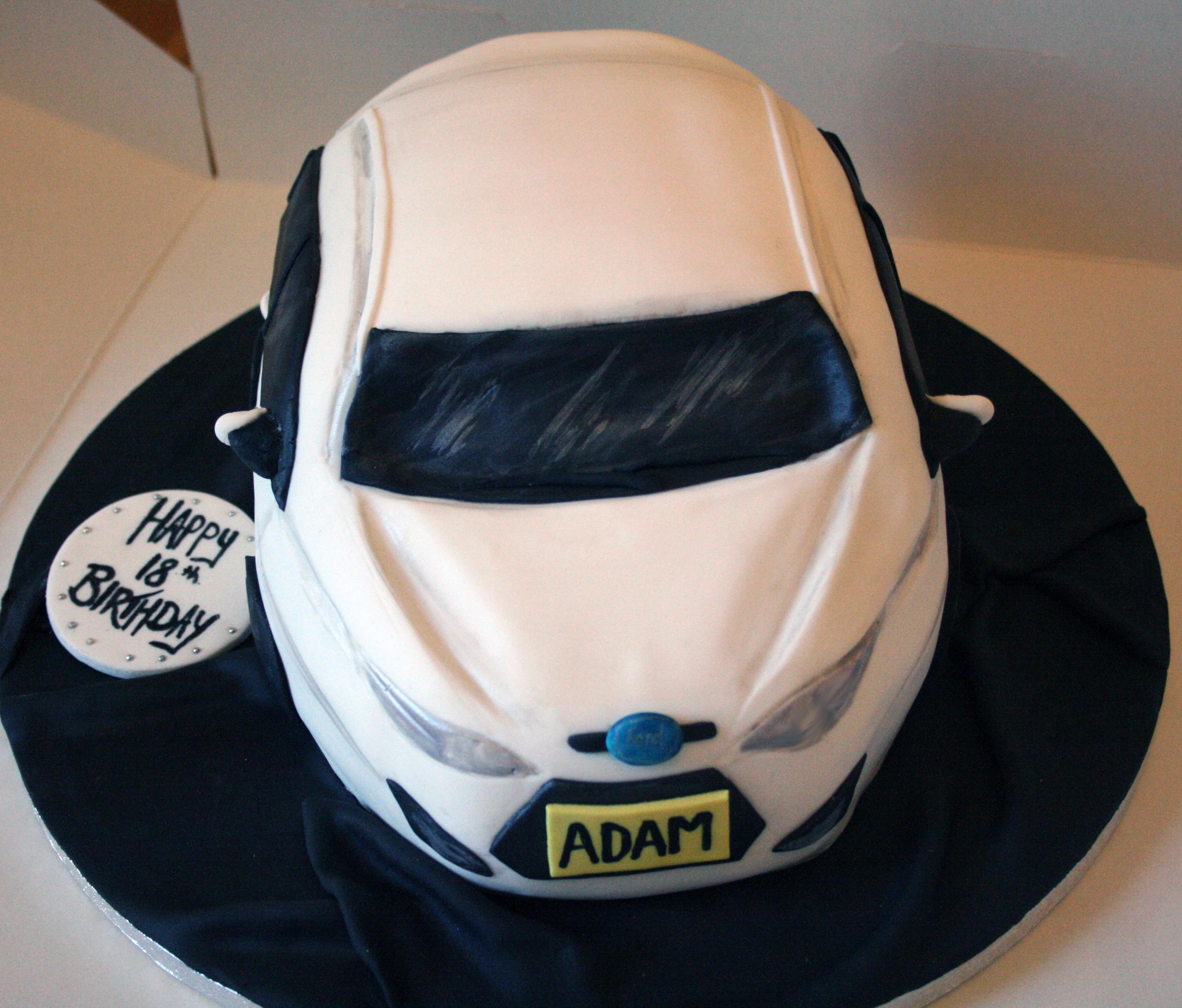 Sculputed Car Cake