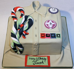 scouts cake