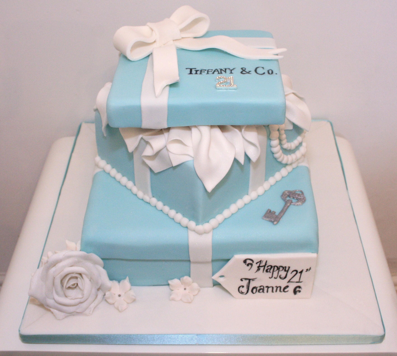 Tiffany Box Cake