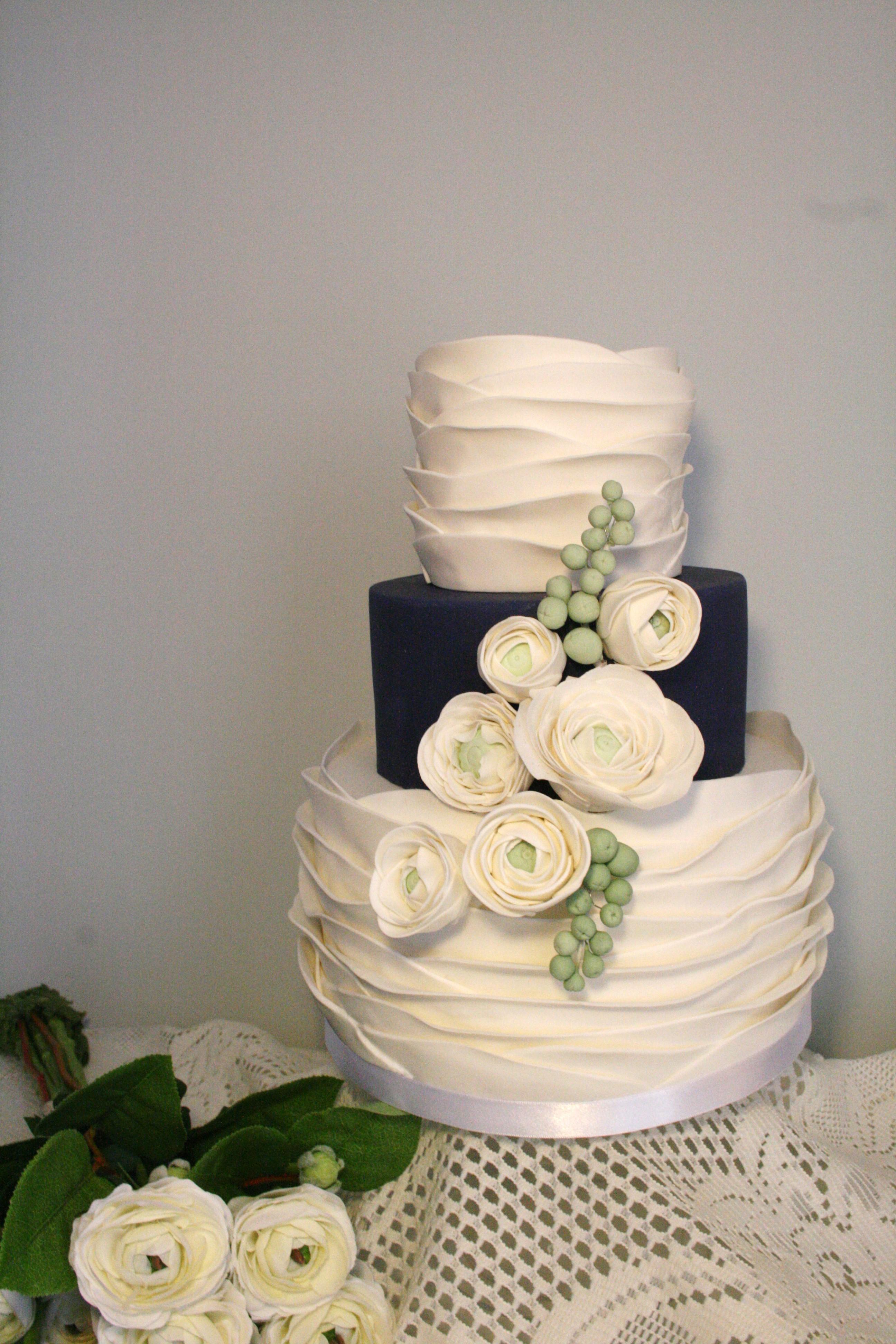 Ranunculus Cake