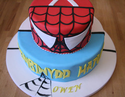 Split Theme Cake