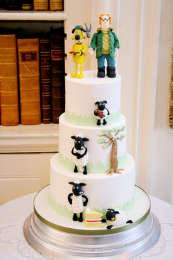 Wallace and Gromit wedding cake_edit