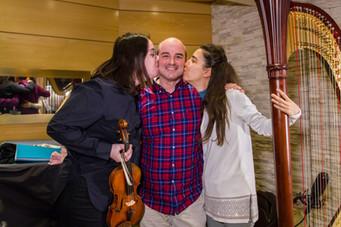 Con Cecilia Bercovich y Cristina Montes