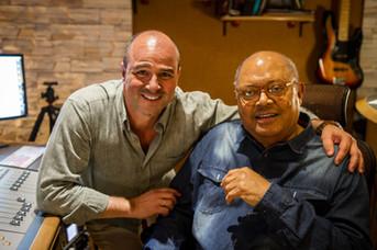 Con el maestro Pablo Milanés