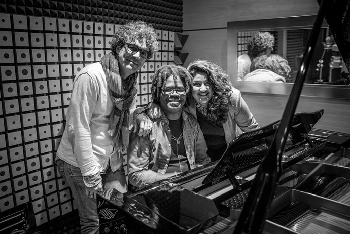 Iván Ruiz Machado, Iván Melon lewis y Tara Tiba