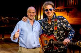 Con Tony Carmona
