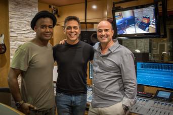 Con Yadam González y Alfredo Chacón