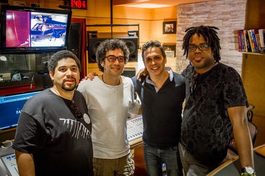 """Georvis Pico, Iván Ruiz Machado, Afredo Chacón e Iván """"Melon"""" Lewis"""