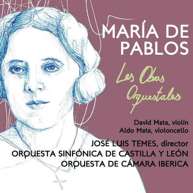 CZ069 María de Pablos - Las Obras Orquestales