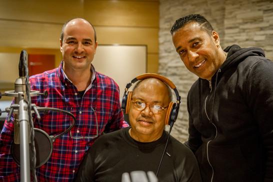 con Pablo Milanés y Dagoberto González Jr.