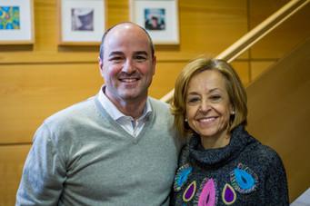 Con la pianista Ana Guijarro