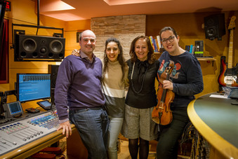 Con Cristina Montes, Consuelo Díez y Cecilia Bercovich