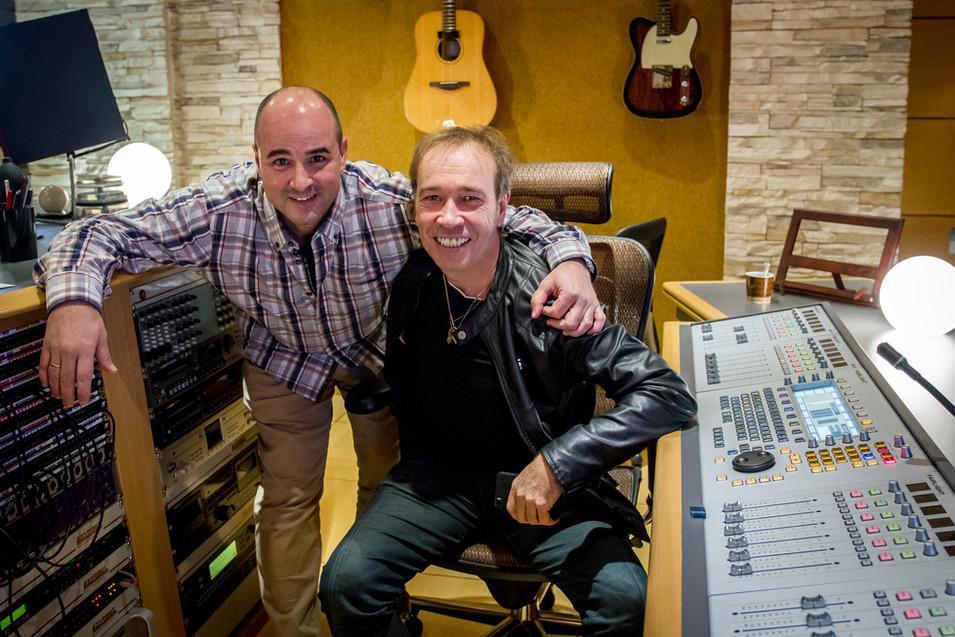 con Nacho García Vega