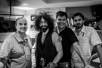 Con Ara Malikian y Humberto Armas