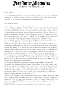 Frankfurter Allgemeine FAZ