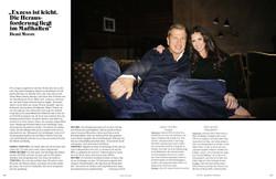 Mario Testino + Demi Moore
