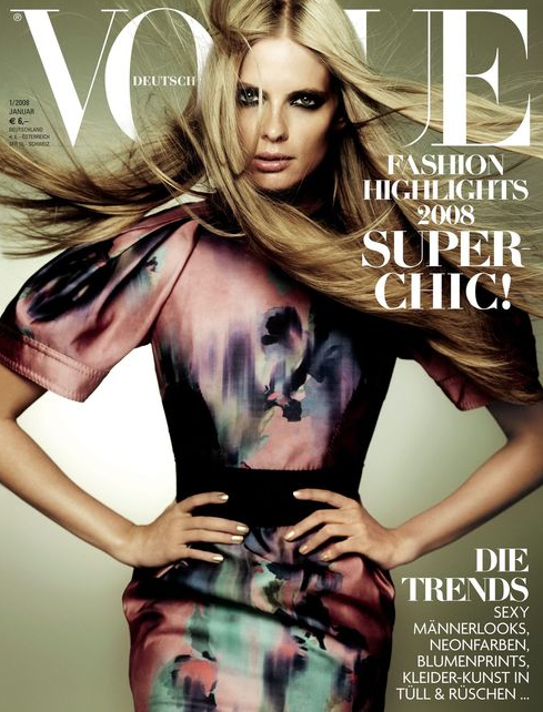 VOGUE COVER Julia Stegner