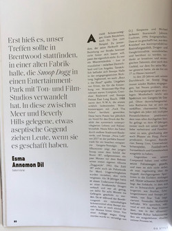 Snoop Dogg GQ Style Germany  Interview b