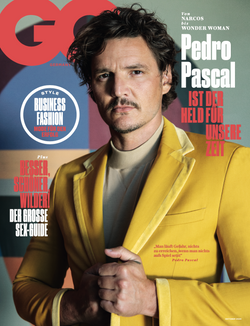 Pedro Pascal GQ cover