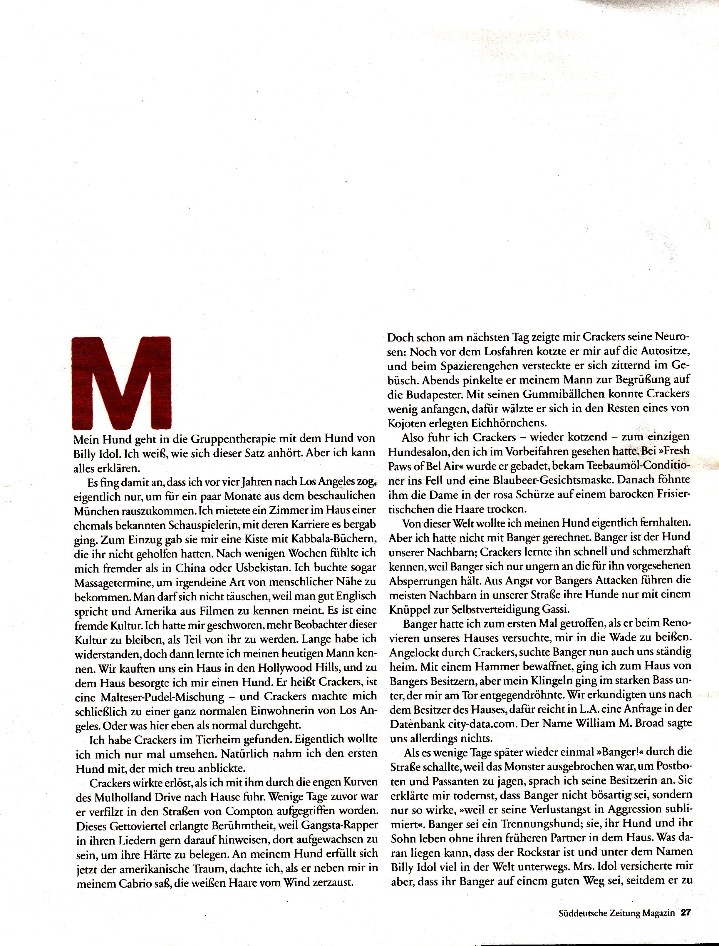 SZ Magazine
