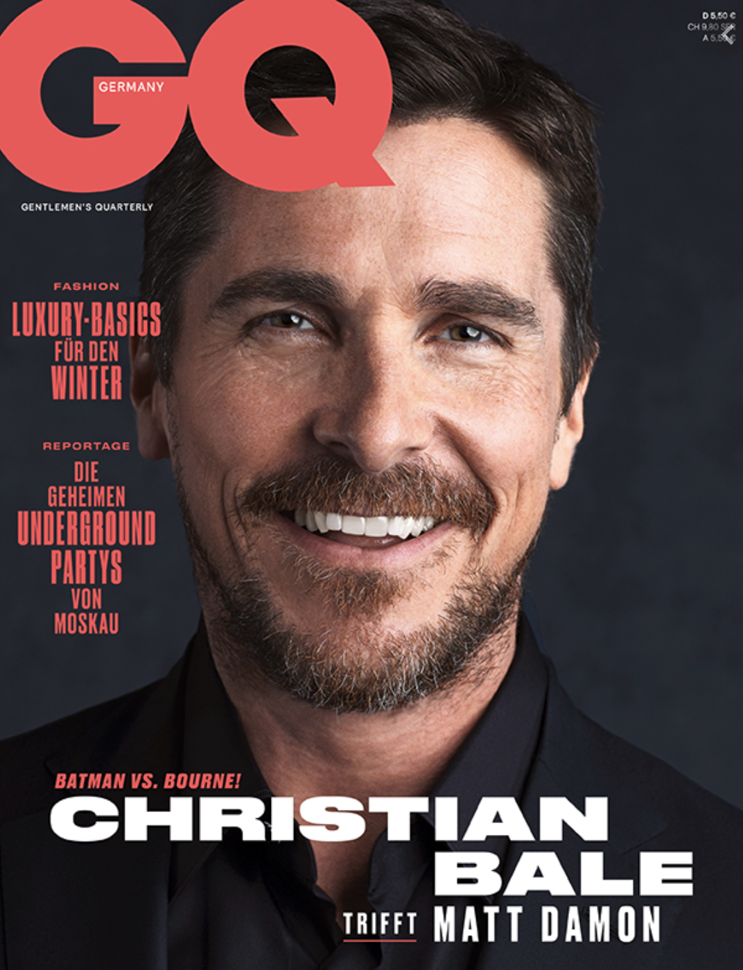 Cover story Matt Damon + Christian Bale GQeen Shot 2021-02-04 at 7.49.56 PM