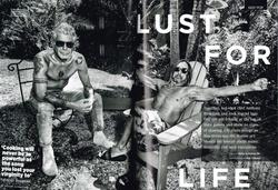 Anthony Bourdain and Iggy Pop