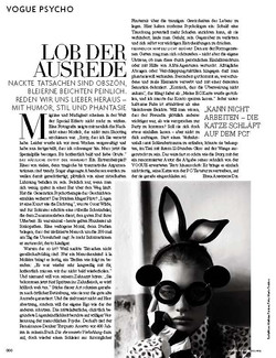 Psychology Feature // German VOGUE