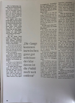 Snoop Dogg GQ Style Germany  Interview E