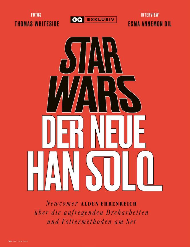 Alden Ehrenreich / Han Solo