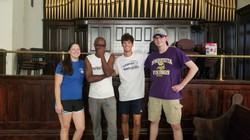 Volunteers from North Carolina