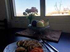 kitchen view/ kuchyn výhled