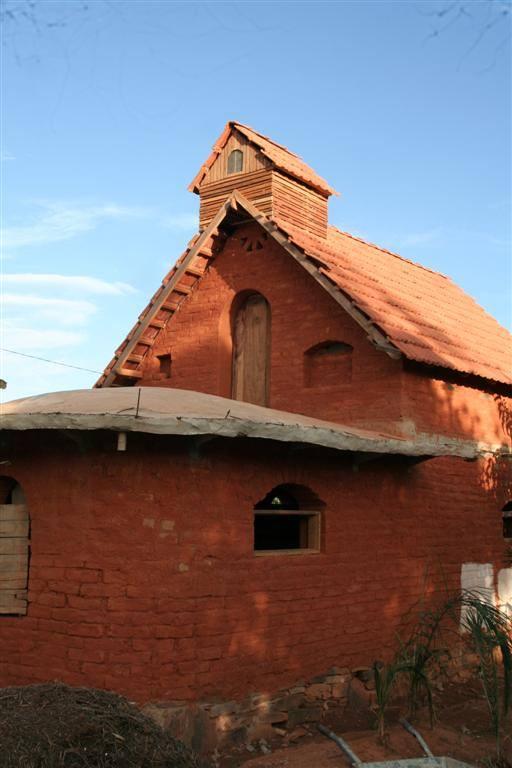 telhado em construção
