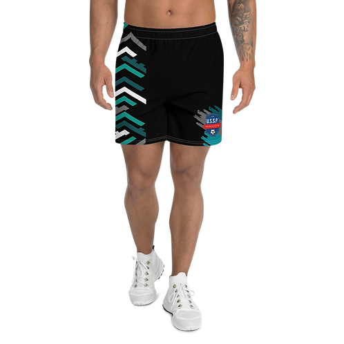 "U.S.S.P. ""The Future Is Me"" Men's Athletic Long Shorts"