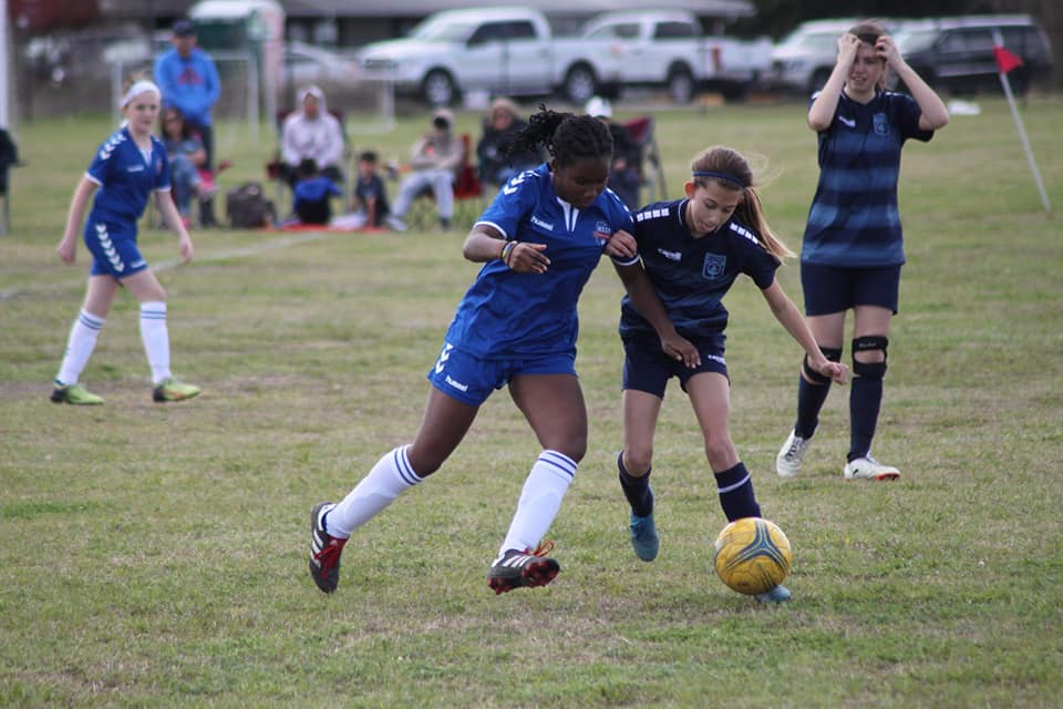 Brylei Henry 13U girls RW one of the clubs future stars!