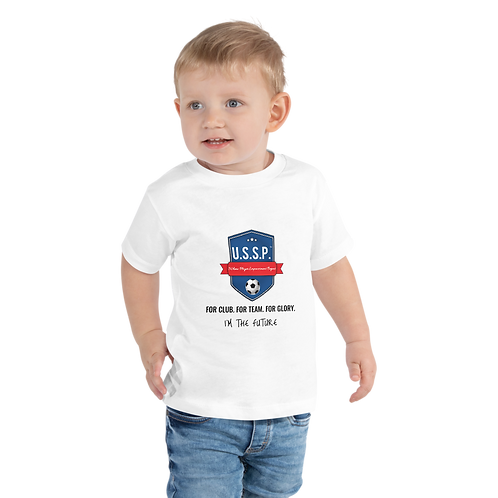 "U.S.S.P. ""I'm the Future"" Toddler Short Sleeve Tee"