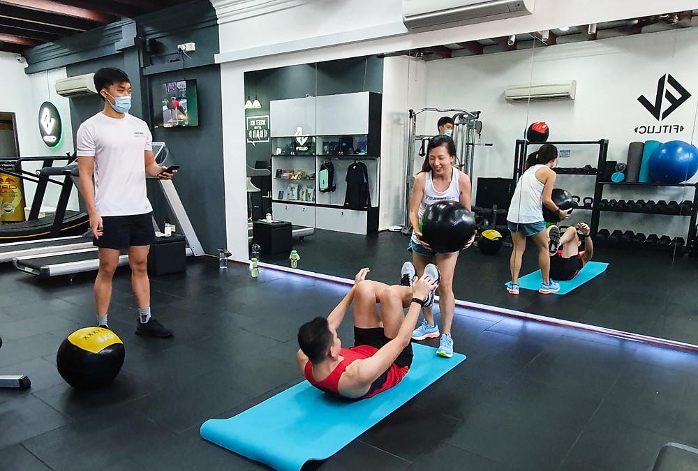 personal training gym singapore