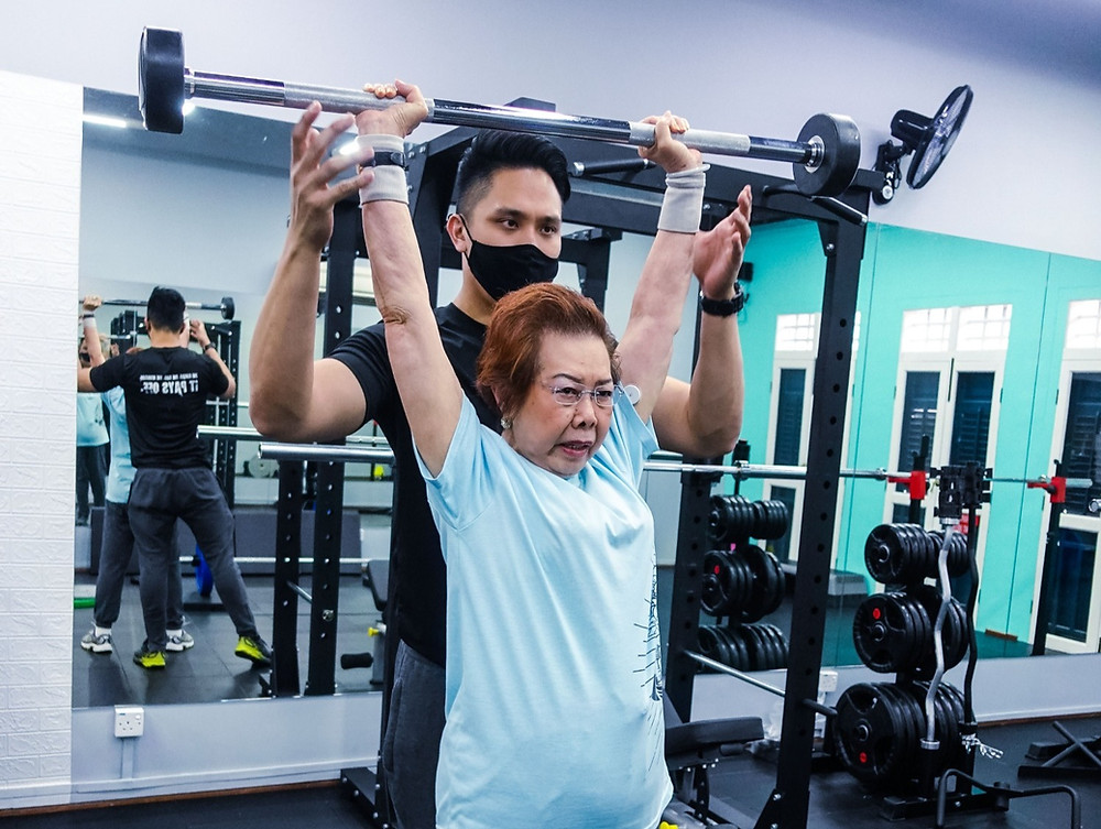 elderly personal training singapore