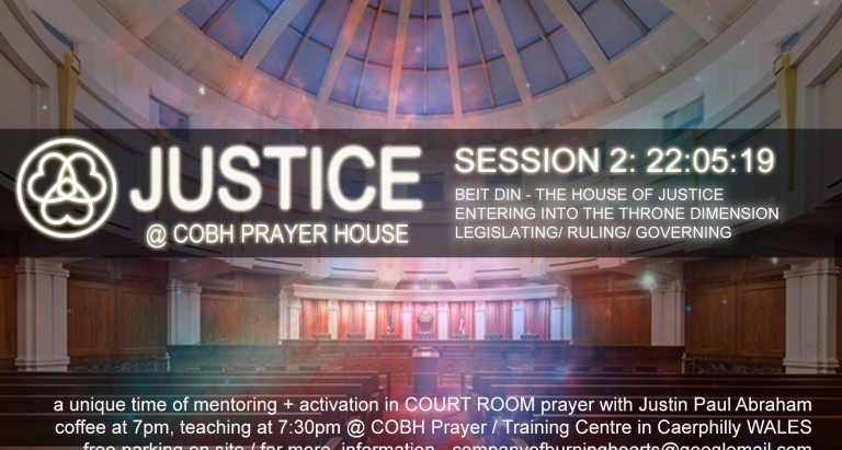 JUSTICE session 2 … coming up