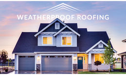 Weatherproof Roofing Sleek, professional and functional.