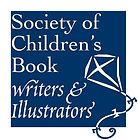 Society of Childrens book writers and illustrators logo