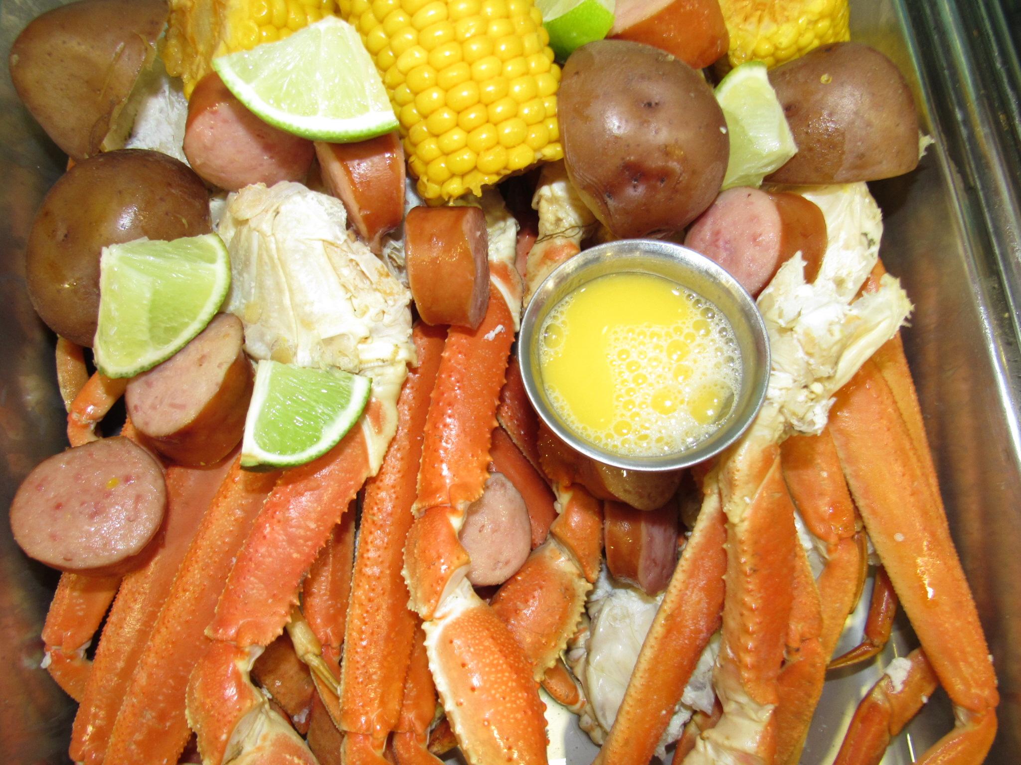 Snow Crab Platter