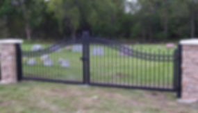 Desinged Gates Panama City